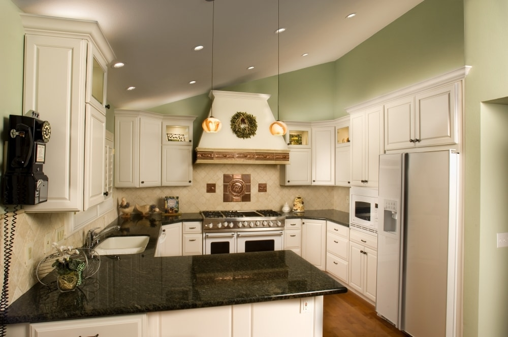 Painted Modern Kitchen - Danville, CA